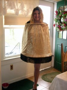"Amputee Humor...My famous halloween costume of the ""Leg Lamp"" from Christmas Story"