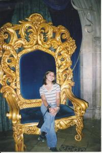 Wrong person on the throne!