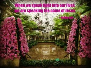 when we speak light we speak jesus